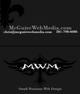 McGuire Web Media Business Card